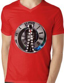 Doctor Who - 4th Doctor - Tom Baker Mens V-Neck T-Shirt