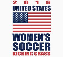 United States Kicking Grass Unisex T-Shirt