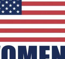 United States Kicking Grass Sticker