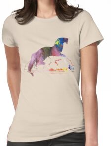 Otter  Womens Fitted T-Shirt