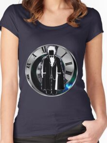 Doctor Who - 3rd Doctor - Jon Pertwee Women's Fitted Scoop T-Shirt