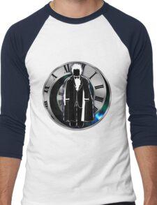 Doctor Who - 3rd Doctor - Jon Pertwee Men's Baseball ¾ T-Shirt
