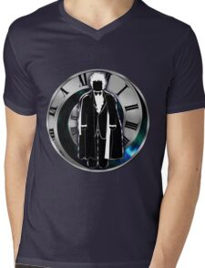 Doctor Who - 3rd Doctor - Jon Pertwee Mens V-Neck T-Shirt