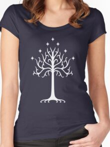 Tree of Gondor Women's Fitted Scoop T-Shirt