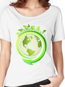Earth Nature Ecology Women's Relaxed Fit T-Shirt