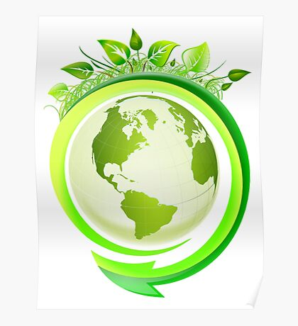 Earth Nature Ecology Poster