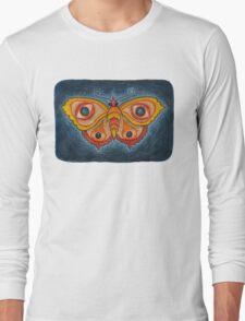Big Eye Butterfly Long Sleeve T-Shirt