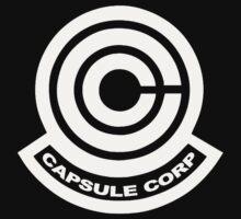Capsule Corp Logos One Piece - Short Sleeve