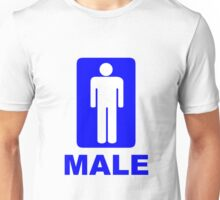Male Sign Unisex T-Shirt