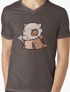 Mini Cubone Mens V-Neck T-Shirt