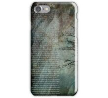 Desiderata Of Happiness - Vintage Art iPhone Case/Skin