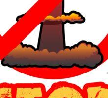 """""""STOP WAR"""" Sign Sticker"""