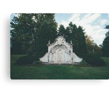 Ornate Mausoleum Canvas Print
