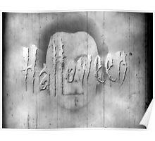 Halloween - retro title. Poster