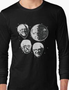 Three Bernie Moon - Funny Bernie Sanders Parody Long Sleeve T-Shirt