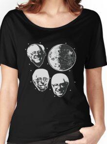 Three Bernie Moon - Funny Bernie Sanders Parody Women's Relaxed Fit T-Shirt