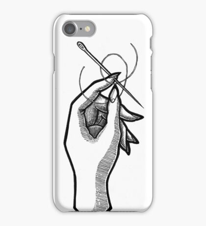 Sewing Needle iPhone Case/Skin