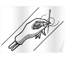 Sewing Needle Poster