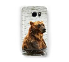 """испытующе"" ""searching"" Samsung Galaxy Case/Skin"
