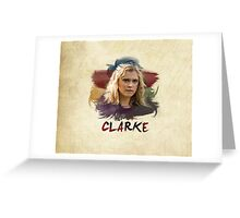 Clarke - The 100 - Brush Greeting Card