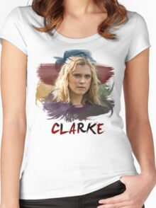 Clarke - The 100 - Brush Women's Fitted Scoop T-Shirt
