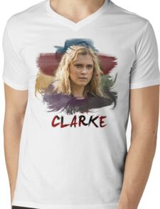 Clarke - The 100 - Brush Mens V-Neck T-Shirt
