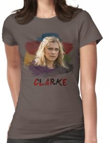 Clarke - The 100 - Brush Womens Fitted T-Shirt
