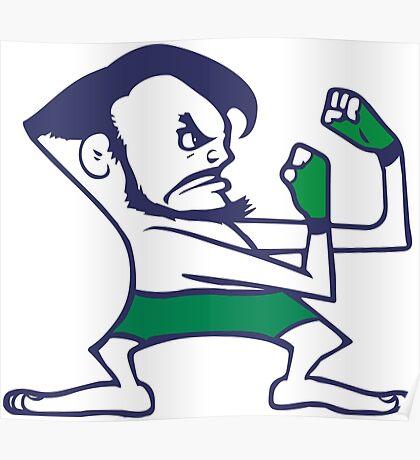 Fightin' Irish - Conor McGregor Poster