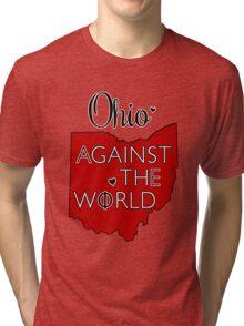 Alpha Epsilon Phi at Ohio State Tri-blend T-Shirt