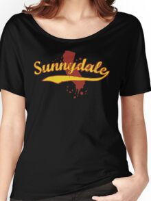 Sunnydale, California Women's Relaxed Fit T-Shirt