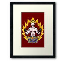 Super Saiyan Sage Framed Print