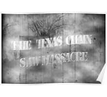 Texas massacre movie poster Poster
