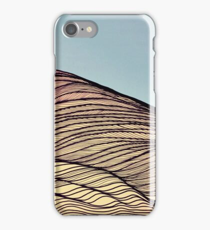 Sand dune iPhone Case/Skin
