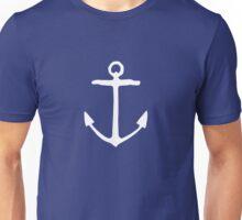 Anchor (White) Unisex T-Shirt