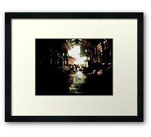 Greek Market Framed Print