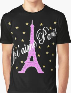JE T'AIME PARIS FOREVER Graphic T-Shirt