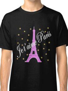 JE T'AIME PARIS FOREVER Classic T-Shirt