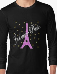 JE T'AIME PARIS FOREVER Long Sleeve T-Shirt