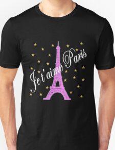JE T'AIME PARIS FOREVER Unisex T-Shirt