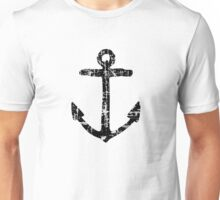 Anchor Vintage Black Unisex T-Shirt