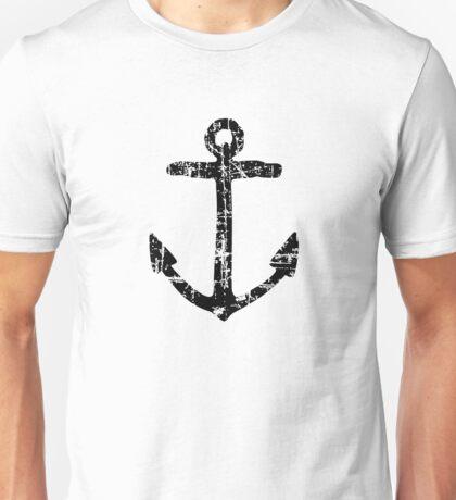 Anchor Vintage Black Unisex T-Shirt