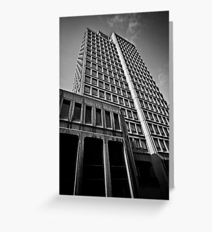 nat west tower Greeting Card