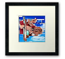 "Web ART #1 ""Cream mouth"" ABSOLUTE GARBAGE Framed Print"