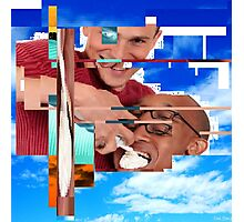 """Web ART #1 """"Cream mouth"""" ABSOLUTE GARBAGE Photographic Print"""