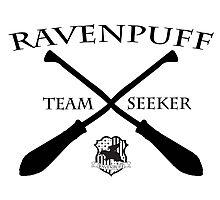 Ravenpuff Seeker Photographic Print