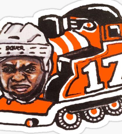 Wayne Train Sticker