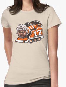 Wayne Train Womens Fitted T-Shirt