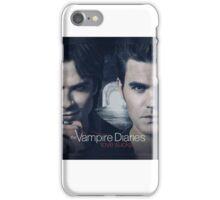 The Vampire Diaries Stefan & Damon iPhone Case/Skin