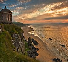 Mussenden Temple Sunset by Derek Smyth