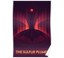 Io - The Sulfur Plumes Poster